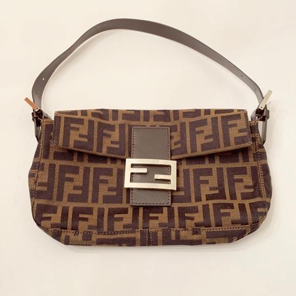bf8de2aea622 Fendi Handbags - Fendi Zucca Baguette